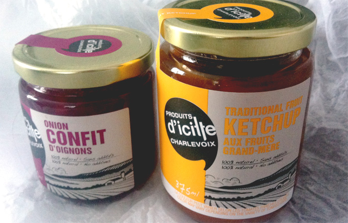emballage Produits d'icitte Charlevoix