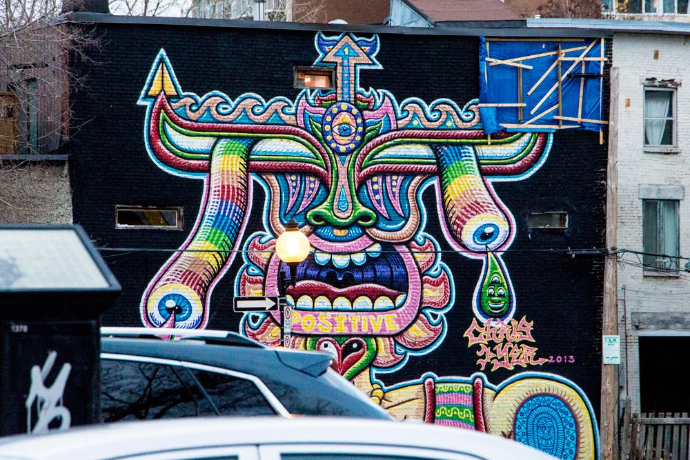 Art urbain Montréal