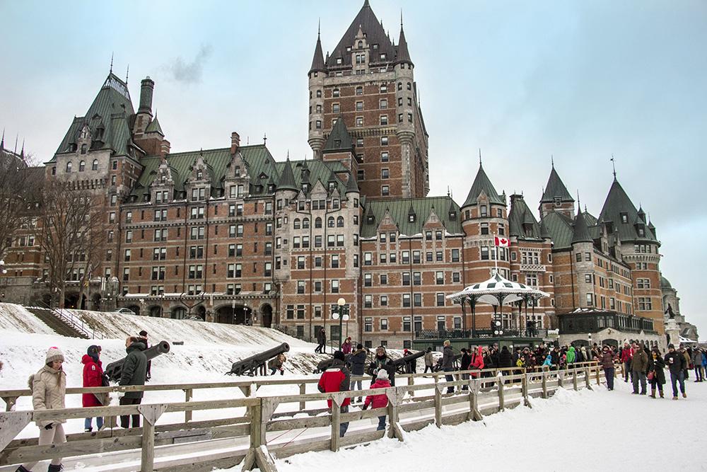 Québec l'hiver