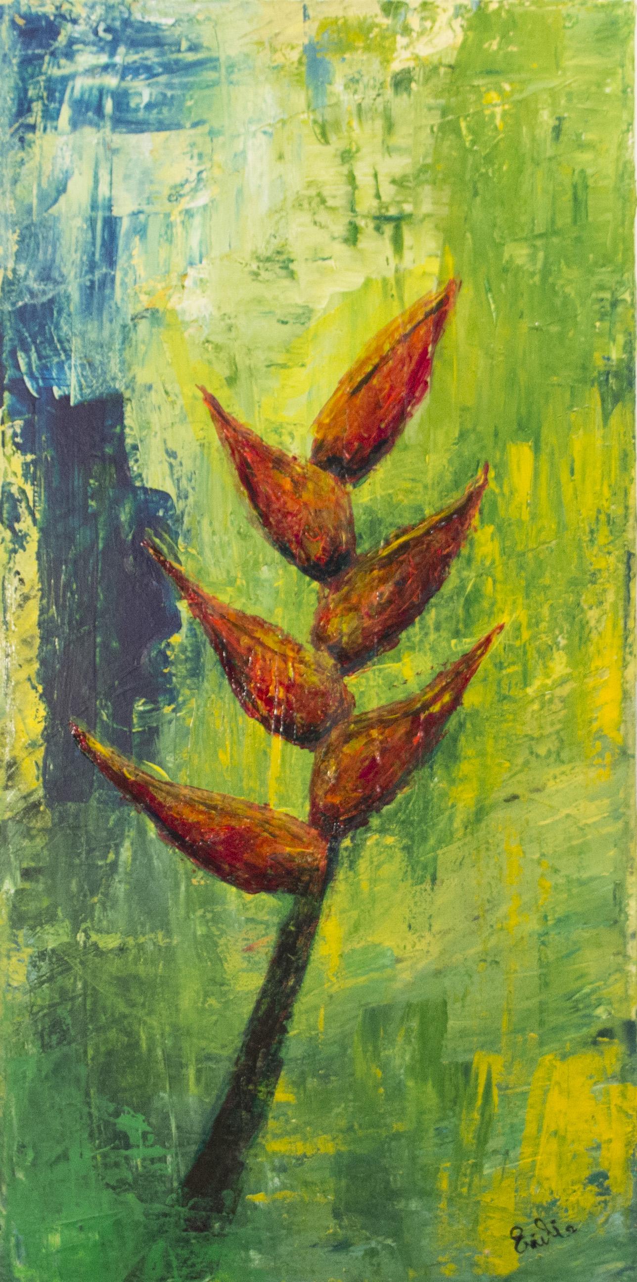 peinture sur l'Équateur