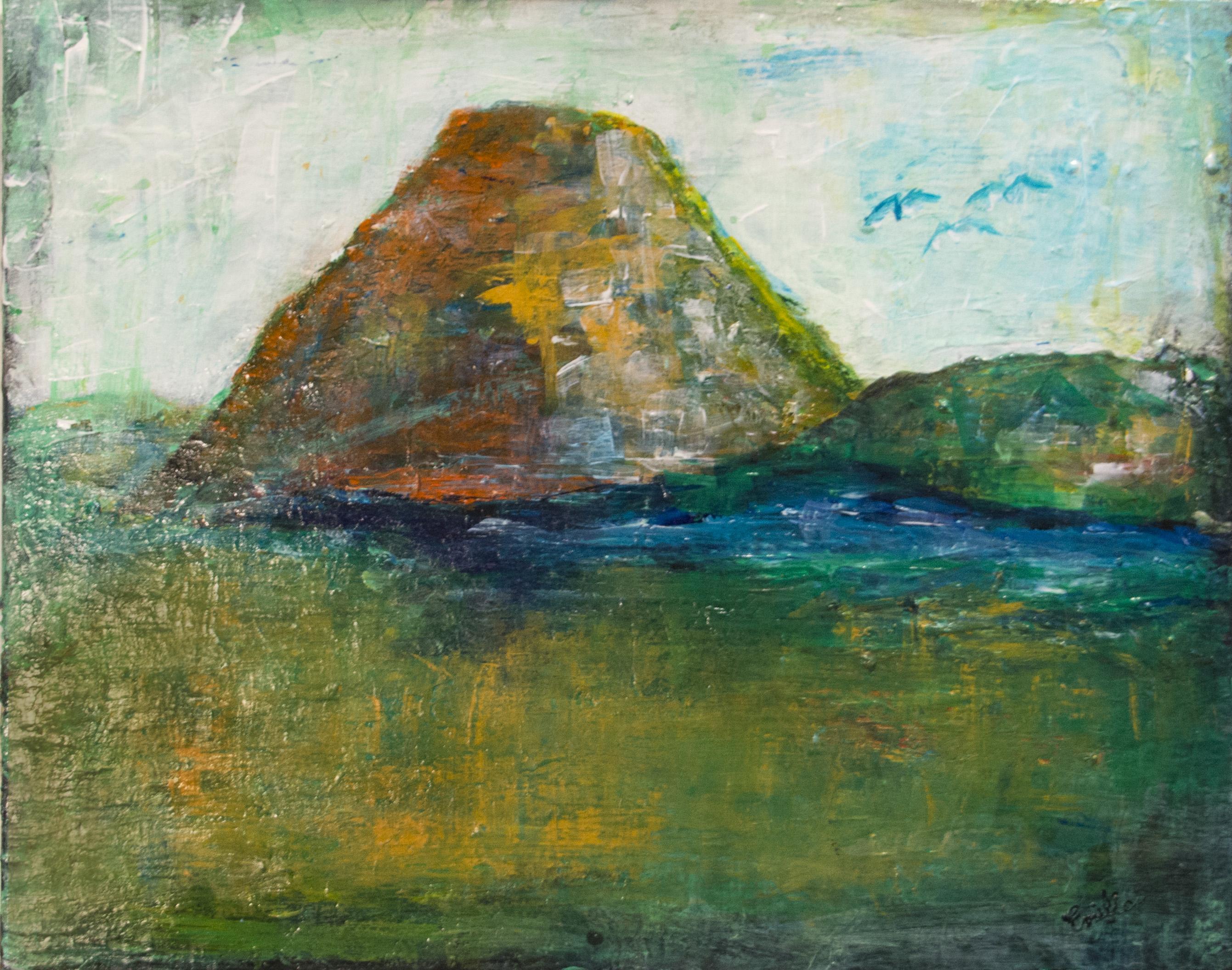 Otavalo, peinture sur l'Équateur