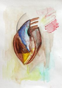 Illustration – Coeurs pastel